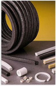 braided PTFE packing / fiberglass / for pumps / high-temperature