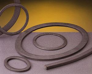 O-ring gasket / round / graphite / manhole
