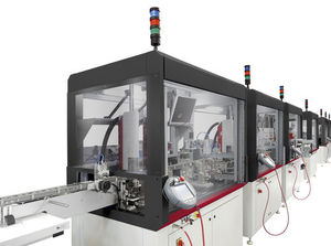 robotic handling cell / mounting / laser welding / assembly