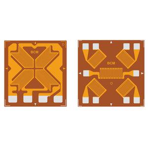 multi-grid strain gauge / resistive / for stress analysis / force measurement
