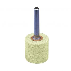 mounted abrasive point