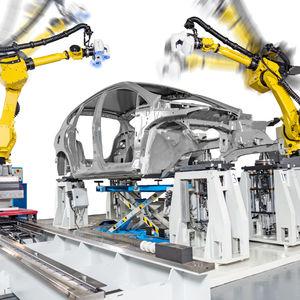 portable coordinate measuring machine / production line / multi-sensor / automated