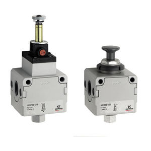 poppet pneumatic directional control valve