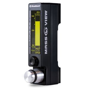 thermal mass flow regulator / for gas / precision / digital
