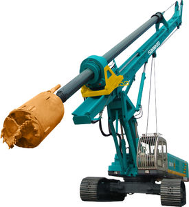 continuous flight auger (CFA) drilling rig / crawler / rotary / hydraulic