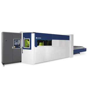 fiber laser cutting machine / for aluminum / for copper / for brass