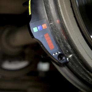 diameter gauge / wheel / contact / digital