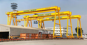 rail-mounted gantry crane