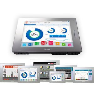 multitouch screen HMI