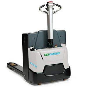 electric pallet truck / handling / transport / for warehouses
