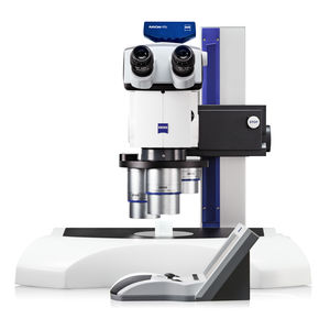 optical stereo microscope / with wide field of view and long working distance / high-magnification