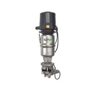 piston valve / pneumatically-operated / mix-proof / shut-off