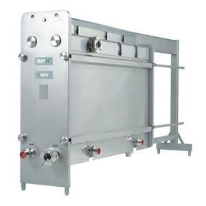 gasketed plate heat exchanger / liquid/liquid / sanitary