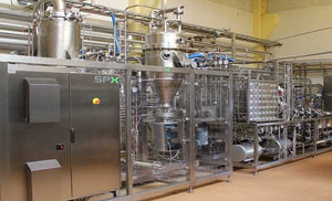 dairy product pasteurizer / for the beverage industry / ice cream / ultra-high-temperature