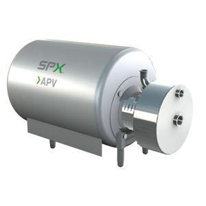 rotor mixer / in-line / solid/liquid / horizontal
