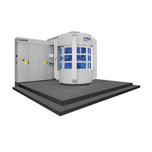 rotary transfer machine / CNC / machining / precision