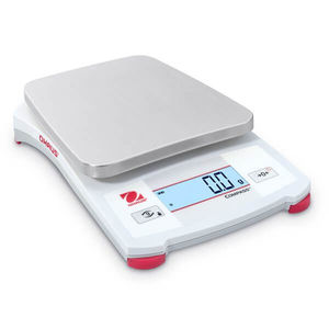 portable scale / benchtop / with LCD display / stainless steel pan