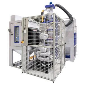 profile shot blasting machine / for aeronautical applications / for medical applications / robotic
