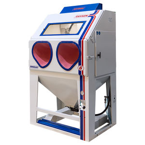 pressure blast cabinet / manual / for heavy-duty applications