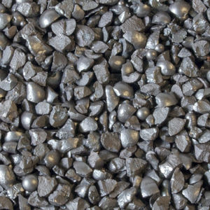 metal abrasive blasting medium