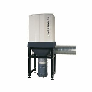floor-standing centralized fume extraction system