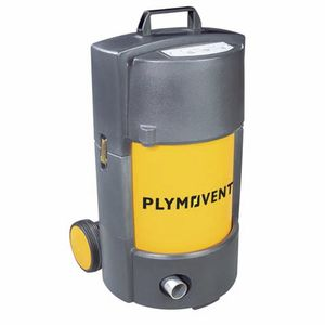 transportable fume extractor / welding / dry filter / activated carbon filter