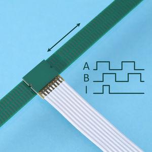 incremental linear encoder / inductive / digital / exposed