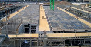 lightweight formwork / slab