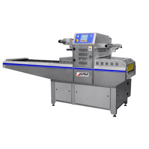 automatic tray sealer / linear array / vacuum / with modified atmosphere packaging