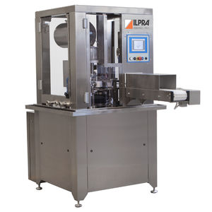 automatic filler-sealer / rotary / for food / for liquids