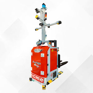 electric stacker truck / AGV / for pallets / for warehouses