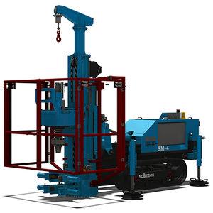 micropile drilling rig / crawler / rotary / hydraulic