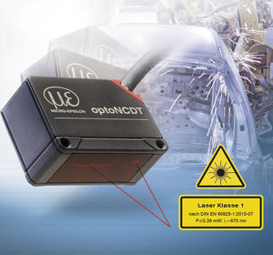 linear displacement sensor / non-contact / laser triangulation / analog