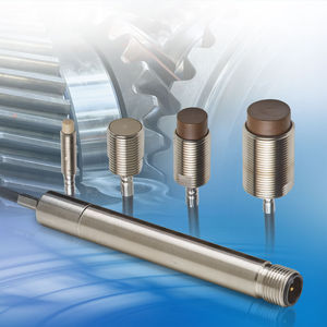 linear displacement sensor / non-contact / eddy current / compact