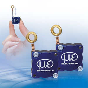 draw-wire displacement sensor / potentiometer / with potentiometric output / compact