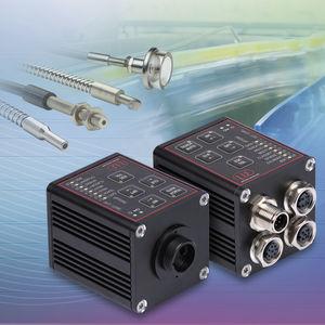 RGB color sensor / fiber optic / rectangular / flexible