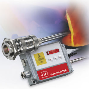 pyrometer with LCD display