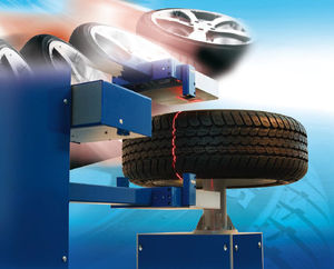 optical inspection machine / for tires / defect / in-line