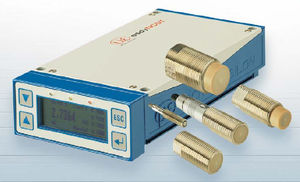 linear displacement sensor / non-contact / eddy current / analog