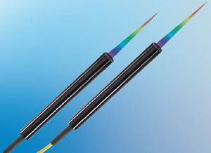 linear displacement sensor / non-contact / confocal chromatic / cylindrical