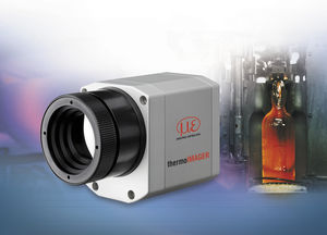 thermal imaging camera / for the glass industry / infrared / microbolometer