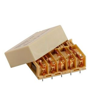 DC electromechanical relay / 2 NC / monostable / for printed circuit boards