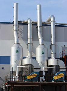 wet gas scrubber / Venturi / biological / high-efficiency