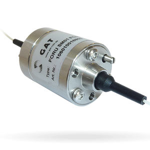 compact fiber optic rotary joint / high-speed