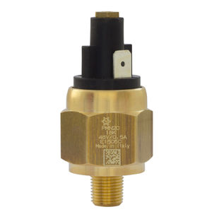 diaphragm pressure switch / piston / adjustable / stainless steel