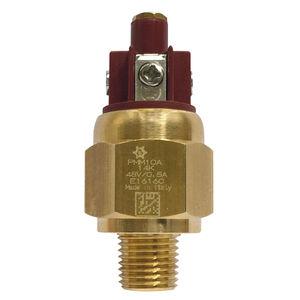diaphragm pressure switch / piston / adjustable piston / stainless steel