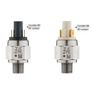 water pressure switch / for steam / diaphragm / industrial