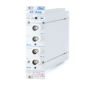 voltage preamplifier / conditioning / for sensors / rack-mount
