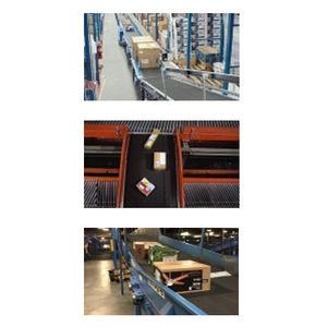 flexible conveyor belt / PVC / fabric / multipurpose