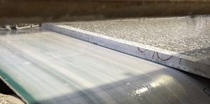 flexible conveyor belt / PET / high-resistance